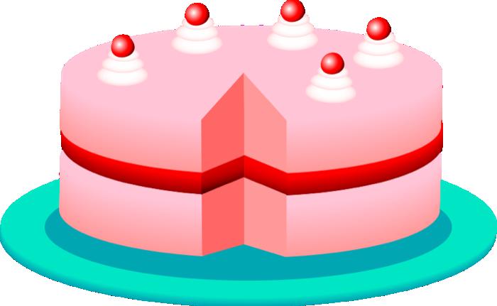 Cake pie  clip art