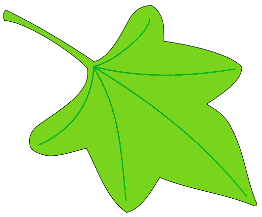 Clip art leaf 2 new hd template images