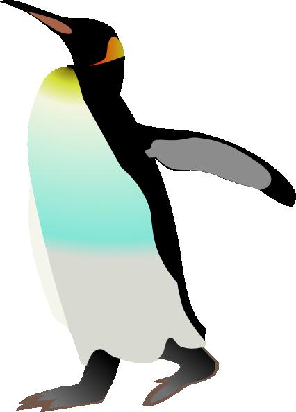 Emperor penguin clip art free vector