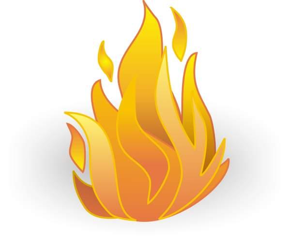 Fire clipart 2