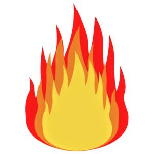 Fire clipart 8