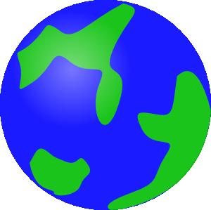 Globe earth clip art at vector clip art online