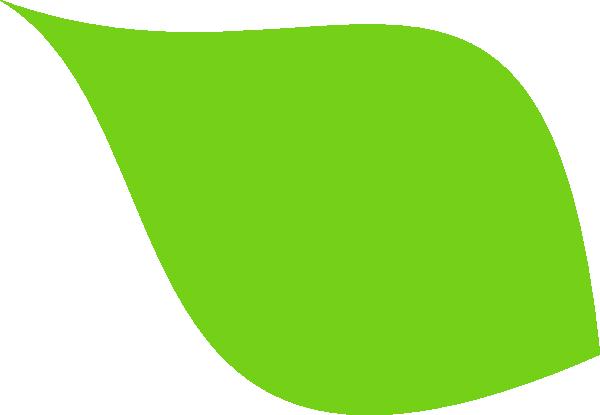 Green leaf icon clip art
