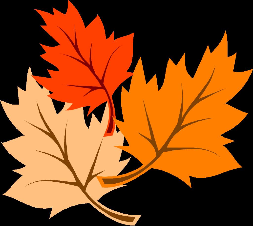 Leaf fall animated clip art
