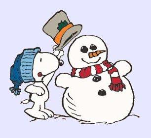 Peanuts winter clipart