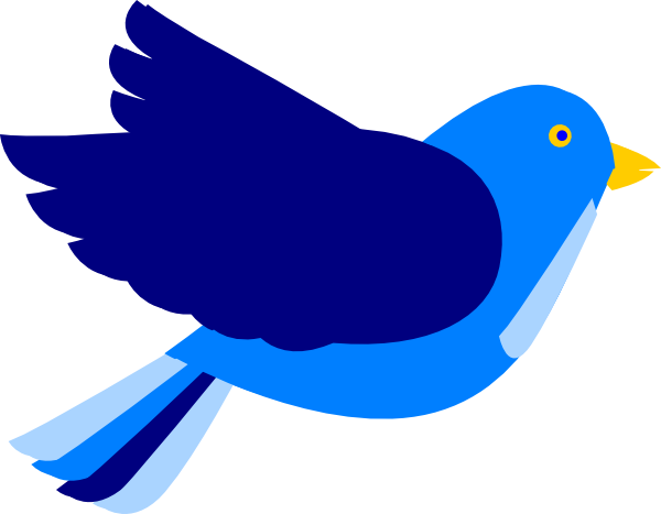 Twjuarez blue bird clip art at vector clip art online