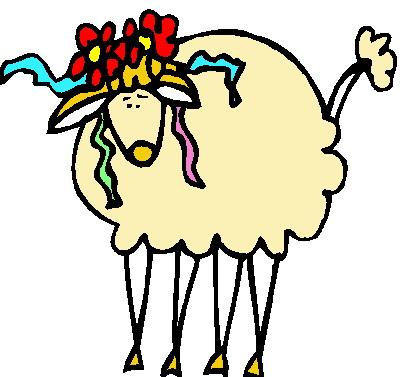 Clip art clip art sheep 3