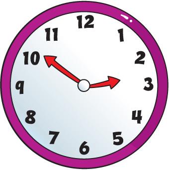 Clip art clock clipart