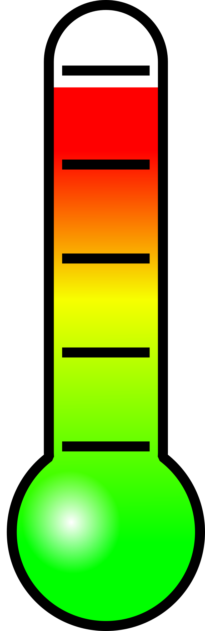 Clipart thermometer