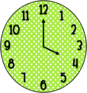 Clock partners and clock clip art tales from outside the classroom