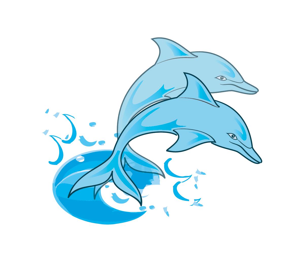 Dolphin clip art  3