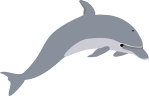 Dolphin clip art at vector clip art online royalty 2
