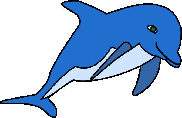 Dolphin clip art at vector clip art online royalty