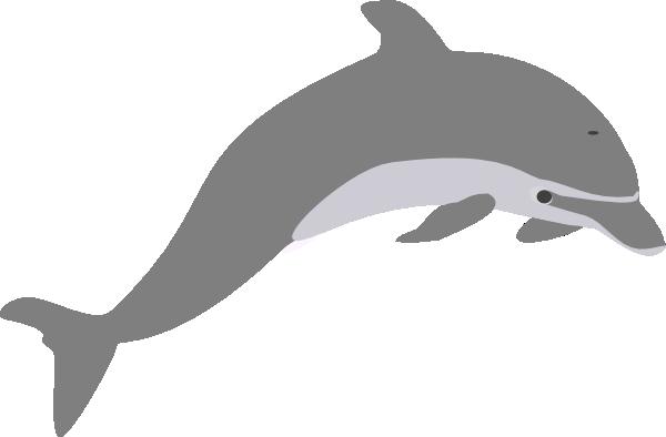 Dolphin outline clip art
