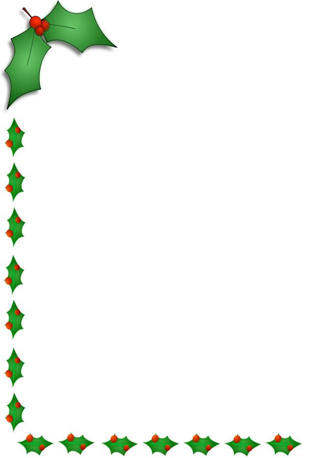Free christmas borders clip art 2