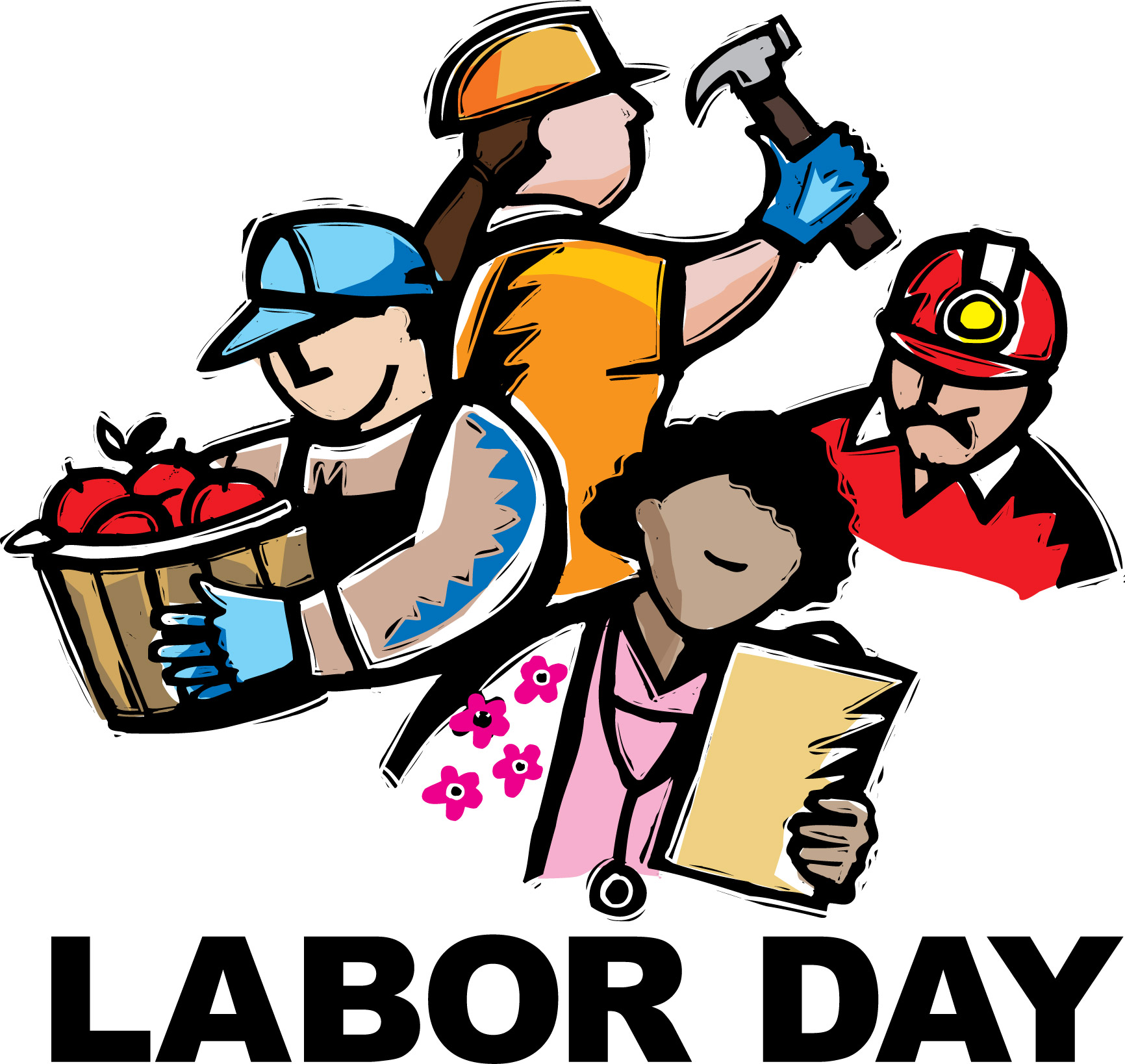 Free labor day clipart 3