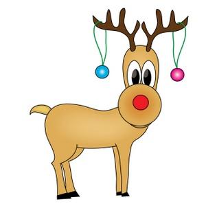 Free reindeer clip art image cartoon reindeer