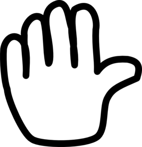 Hand clip art at vector clip art online royalty free