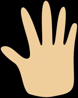 Hand clip art hand image