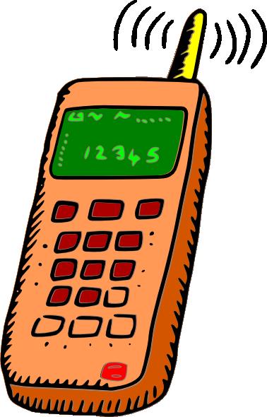 Mobile phones clip art