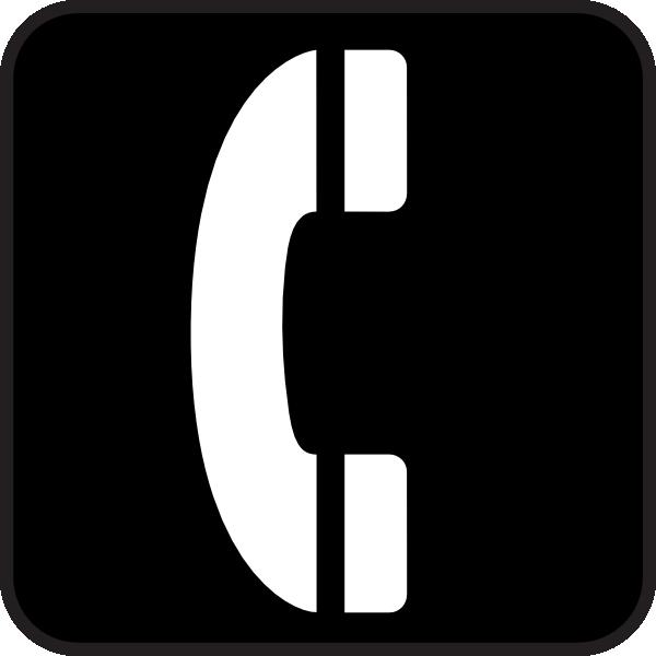 Phone clip art free vector