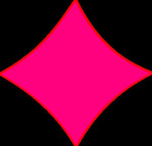 Pink diamond clip art at vector clip art online 2