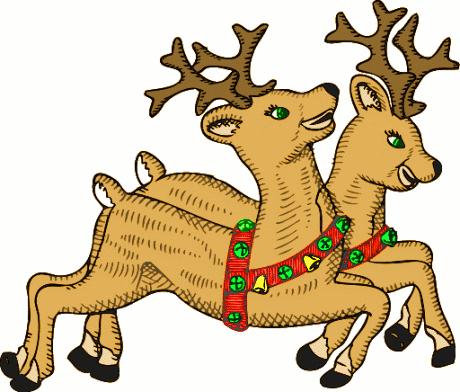 Reindeer clipart 5