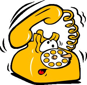 Ringing phone clip art at vector clip art online