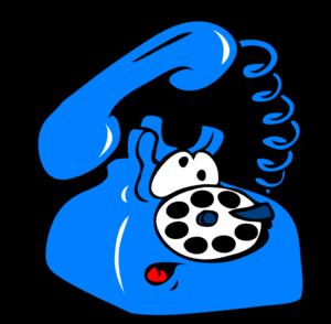 Ringing phone clip art vector clip art online royalty free