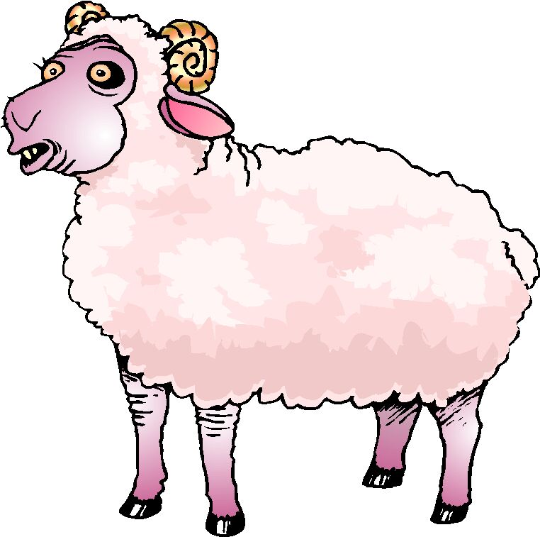 Sheep clip art 2