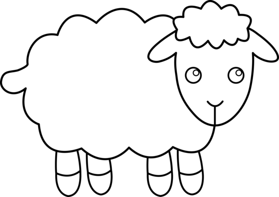 Sheep clipart 2