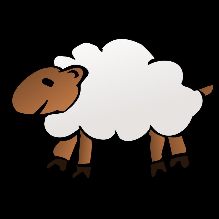 Sheep clipart 4