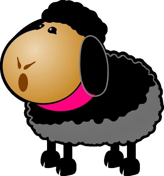 Sheep clipart 9