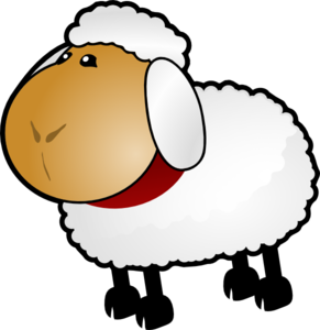 Sheep rotate 5 clip art at vector clip art online