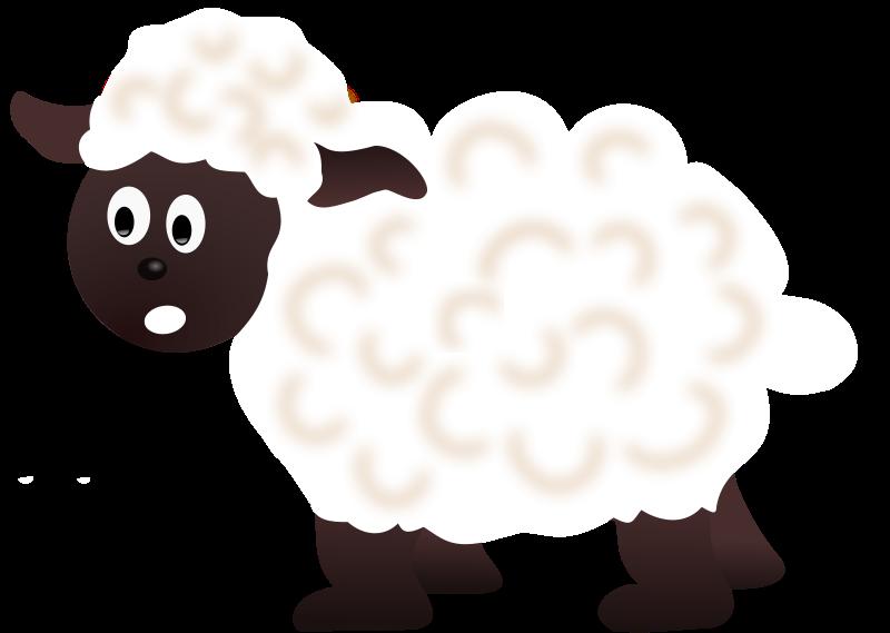 Sheep small mammals clip art