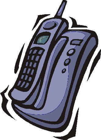 Telephone clip art 2