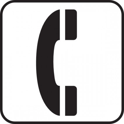 Telephone symbol clip art free vector for free download about