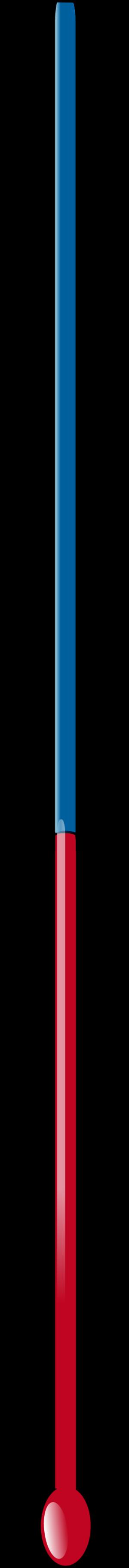 Temperature thermometer vector clip art