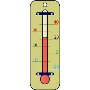 Weather thermometer clip art clipart