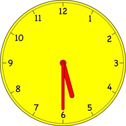 When clock clipart clipart