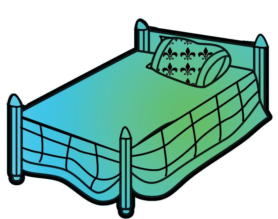 Bed clipart 6 2