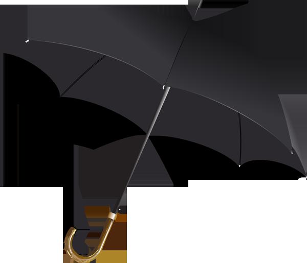 Black umbrella clip art clipart clipart