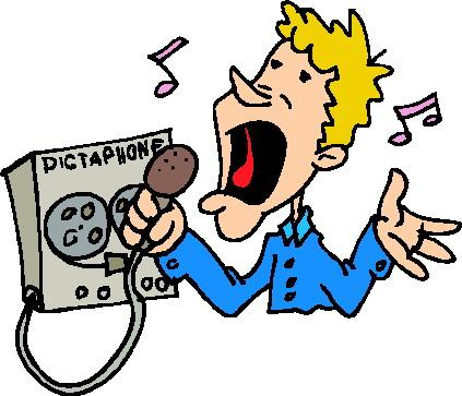 Clip art clip art microphone 4