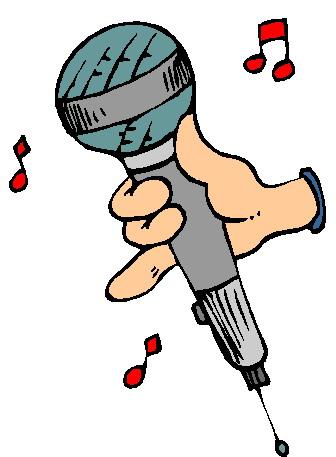 Clip art clip art microphone
