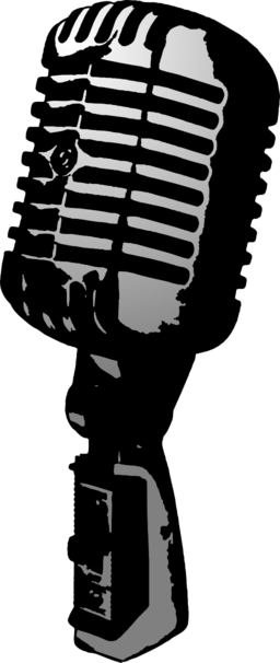 Clip art microphone clipart