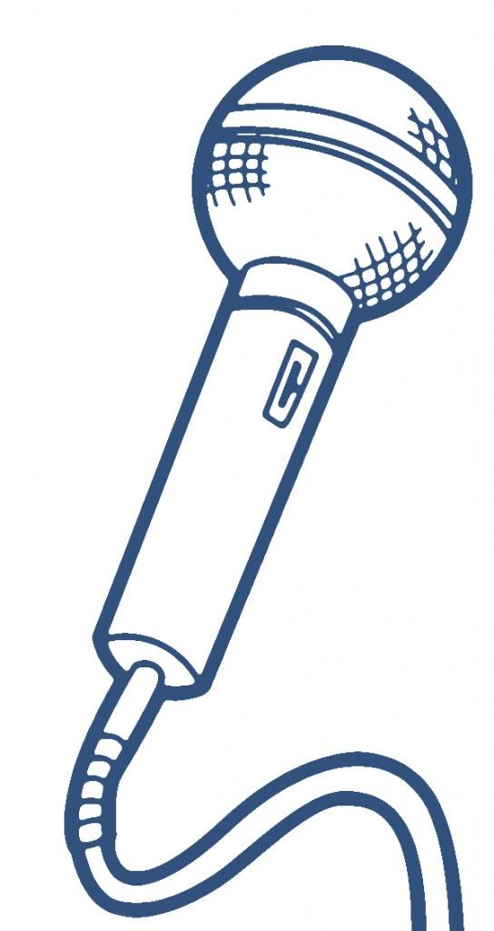 Microphone clip art 0