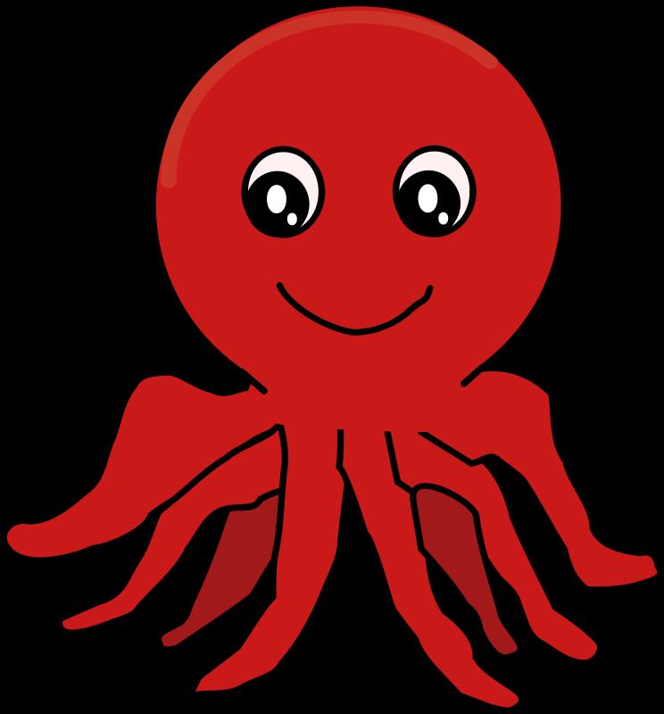 Octopus clip art  3