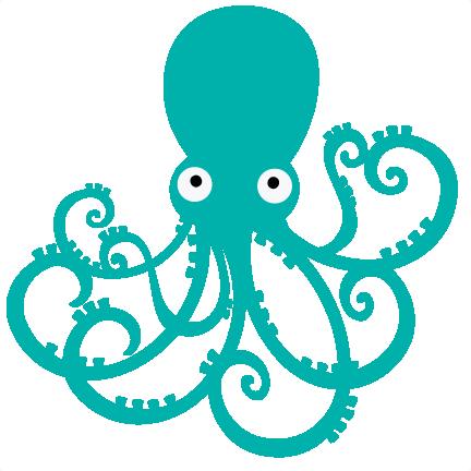 Octopus clipart 2