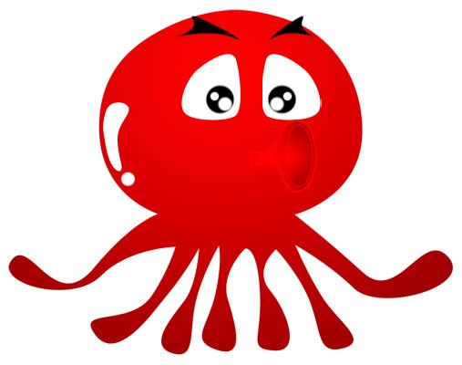 Octopus clipart 9