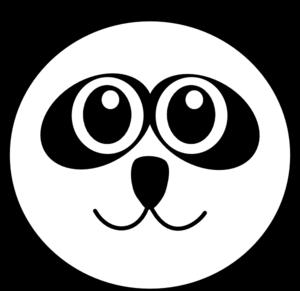 Panda 9 clip art at vector clip art online royalty